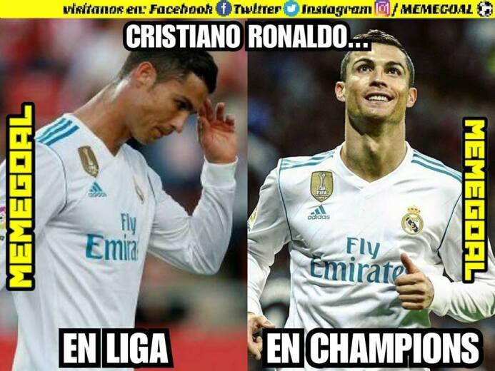 Cristiano Ronaldo marcó gol y los memes se rindieron a sus pies 24993319...
