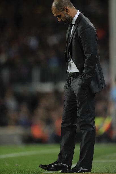 Guardiola no encontró la fórmula para quebrar al Sevilla.