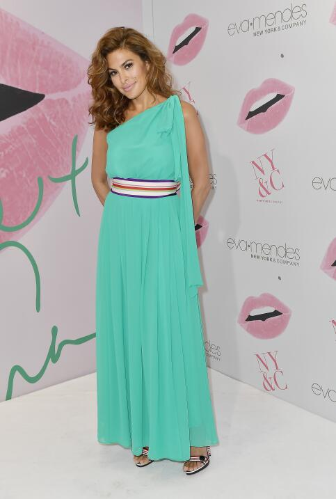 Eva Mendes Debuts New Collection For New York & Company At New Miami Store