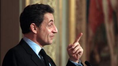 El presidente francés Nicolas Sarkozy.