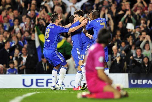 El brasileño Oscar puso el 1-0 cuando se cumplía el minuto 31.