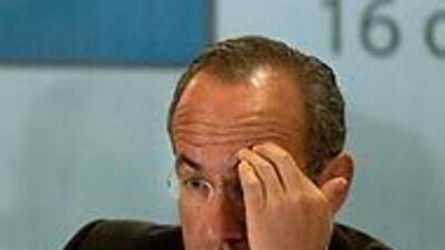 """Presidente Calderón cree que México """"tiene un problema de imagen"""" en el..."""