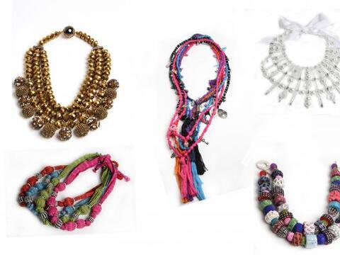La moda no sólo se basa en joyas hechas con metales preciosos, ta...