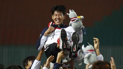 En fotos: Son Heung-Min evitará el servicio militar tras triunfar con Corea del Sur