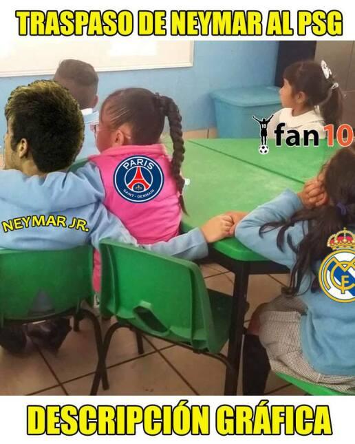 En memes: Neymar se inclina por los millones del PSG 20430113_1522804354...