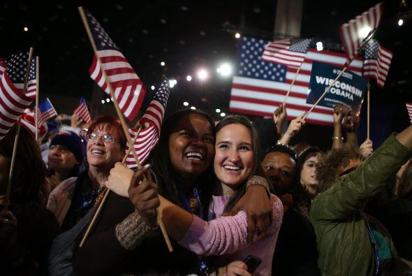 Obama ganó la reelección para un segundo mandato, hasta el...