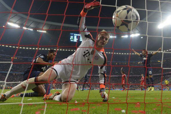 Hasta que en la segunda parte, el United daba la sorpresa.