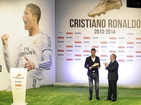 El crack portugués del Real Madrid disfrutó la celebraci&o...