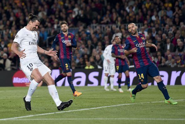 Tras los 180 minutos el Barcelona no tuvo problemas para avanzar a las s...