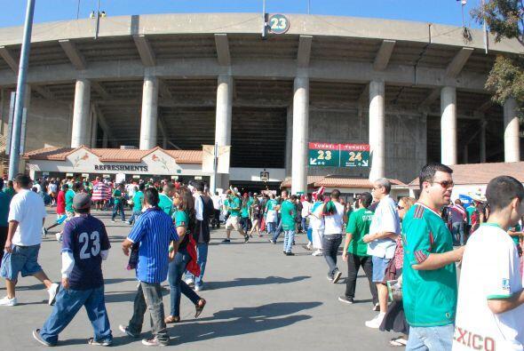 Sólo era cosa de minutos, la fiesta de la Final de la Copa Oro 2011 empe...