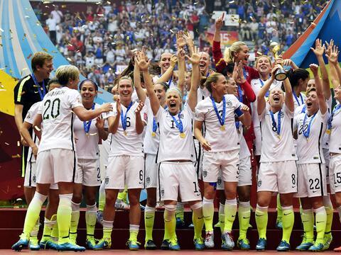 Selección Nacional Femenil de Estados Unidos, nominada a Equipo d...