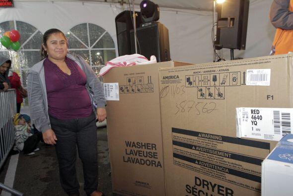 Nueva lavadora y secadora para su casita..