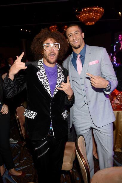"""I´m sexy and I know it!"", dijo el curly de Redfoo, de LMFAO a Colin Kae..."