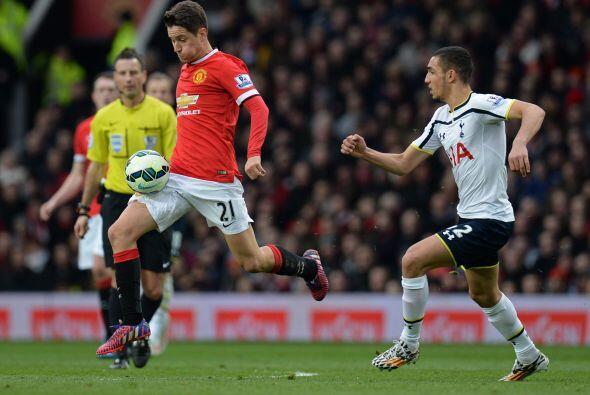 Manchester United no aflojaría la intensidad tras el gol y eso se vería...