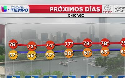 Pese a la baja en temperaturas, volverán las condiciones frescas a Chicago