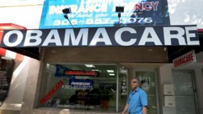 """Obama celebró el éxito de su reforma sanitaria y pidió un """"impulso"""" ante..."""