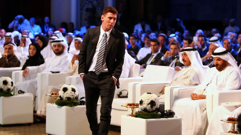 Messi en Dubaí