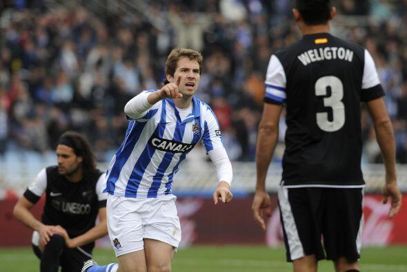 Y seguimos con el español Iñigo Martínez de la Real Sociedad.