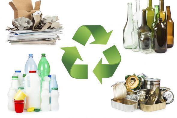 Recuerda que muchos artículos se pueden reutilizar o reciclar para difer...