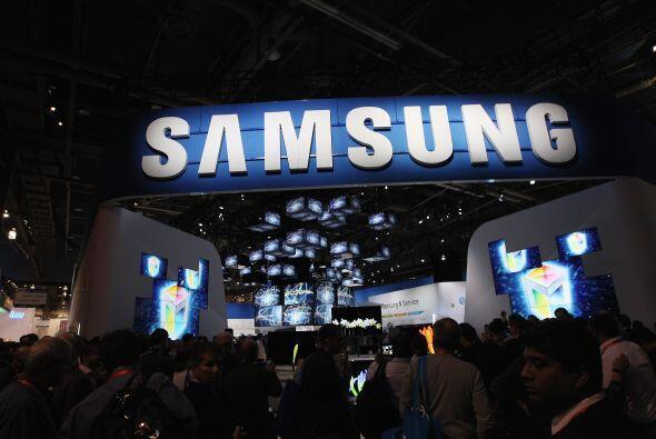 SAMSUNG- El gigante surcoreano Samsung Electronics, registró ventas réco...
