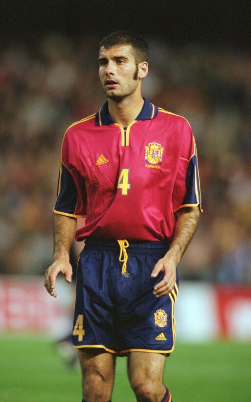 Suplente: Pep Guardiola (España) - Corea y Japón 2002