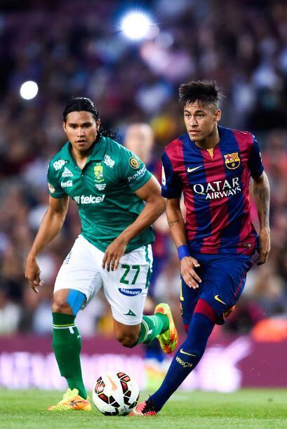 El 'Gullit' Peña y Neymar, dos futbolistas que fueron mundialistas en Br...