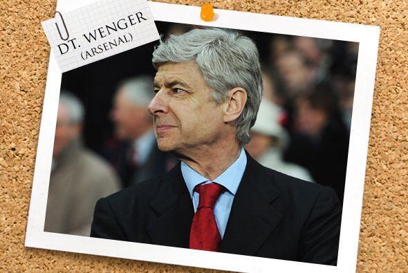 Y ya lo habíamos mencionado. El técnico de la semana es el galo Arsène W...