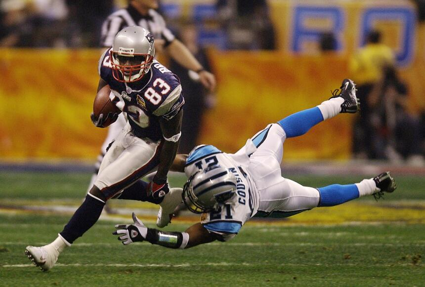 Recuerdo del Super Bowl XXXVIII, el único que Carolina ha jugado
