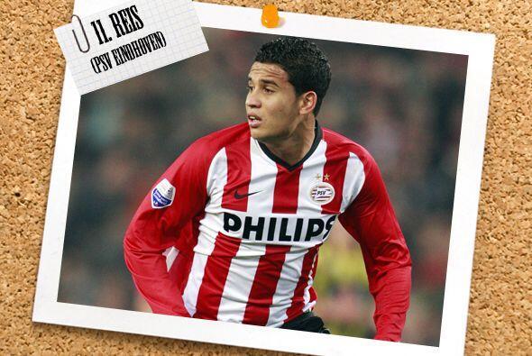 El atacante que cierra el once de la semana es el brasileño Jonathan Rei...