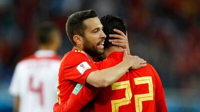 En fotos: España pasó de líder a octavos tras intenso empate con Marruecos en el grupo B