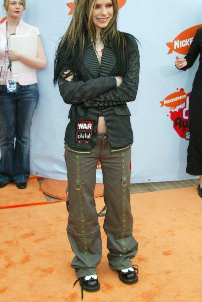 Su estilo es muy rockero y siempre busca proyectar una imagen súper rebe...