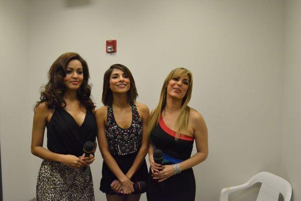 (De izq. a der.) Karola Rosa, Alejandra Espinoza y Rosina Grosso recorda...