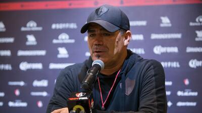 El entrenador interino de Atlas, Francisco Ramírez, pidió que el nuevo D...