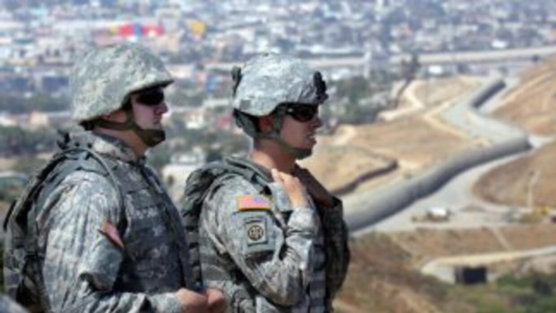 Guardia Nacional en Texas
