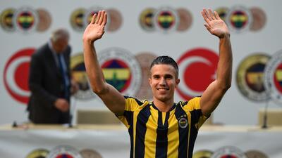 Robin van Persie firma con el Fenerbahçe