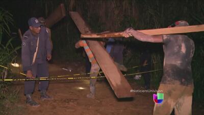 Continúan las labores para rescatar a mineros de Nicaragua