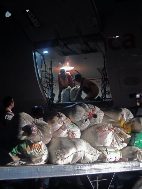 Desesperación y ruinas en la costa ecuatoriana tras el terremoto DSCN201...