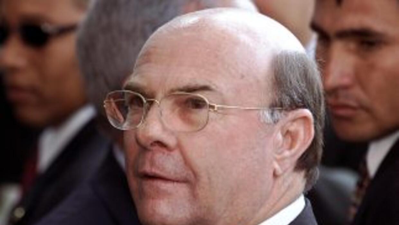 El candidato a la Presidencia de la República Dominicana por el Partido...