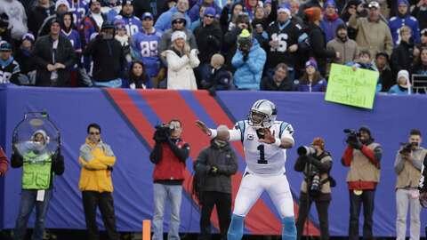 Panthers 38-35 Giants: Carolina con susto GIGANTE, a 2 victorias de la p...