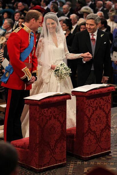 Guillermo y Catherine Middleton se convirtieron en marido y mujer el 29...