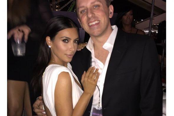 ¡Pero qué sexy Kim! Se nota que los años te han sentado bien.