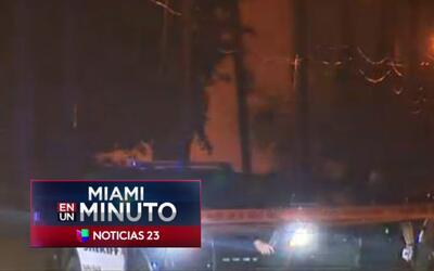 'Miami en un Minuto': dos heridos de bala en un incidente en Dania Beach