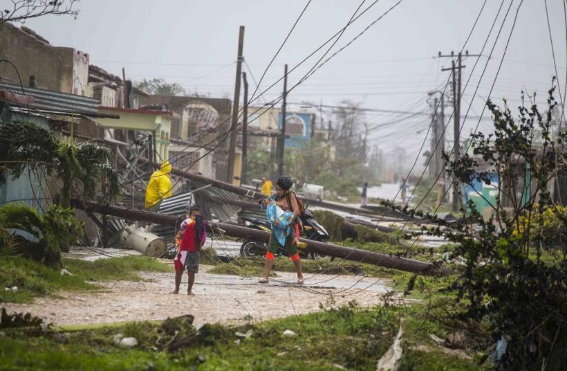 Caibarién recibió toda la fuerza de Irma como un huracán de categoría 5.