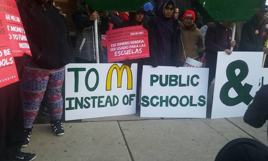 Paro laboral de maestros Chicago