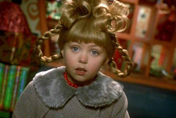 """Fue su papel en la cinta """"Dr. Seuss' How the Grinch Stole Christmas"""", es..."""