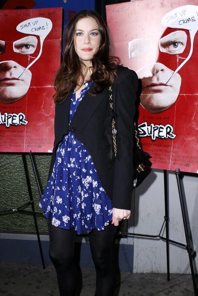 Liv Tyler lució radiante en la presentación de su nueva cinta,'Super'. L...