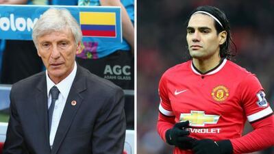 El seleccionador de Colombia declaró que le importa que el 'Tigre' esté...