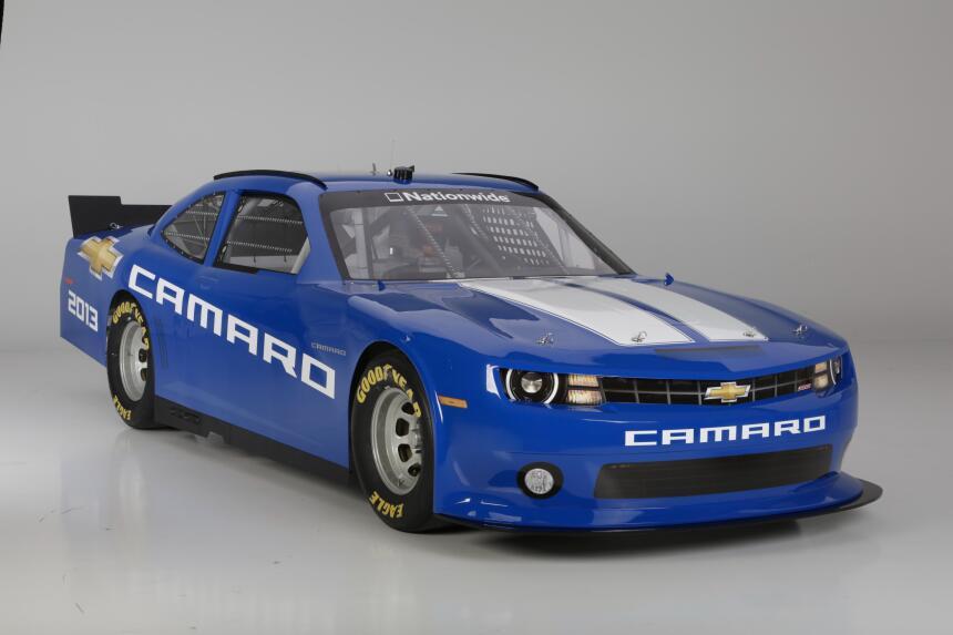 El Camaro se apodera de todo el esfuerzo de Chevrolet en NASCAR 1220HH70...