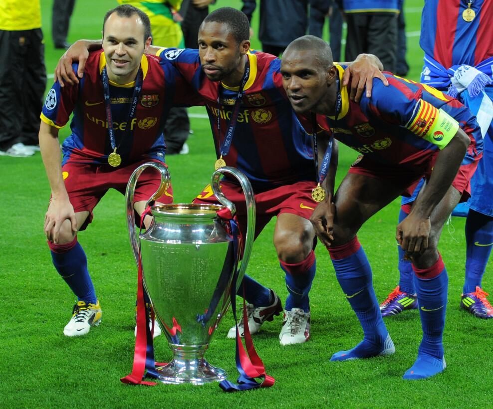 Los triunfos internacionales volvieron en el 2011 con la Champions Leagu...