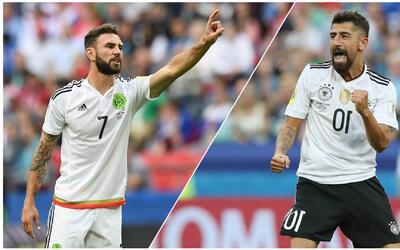 Alemania le gana por muy poco a México en los números de esta Confederac...